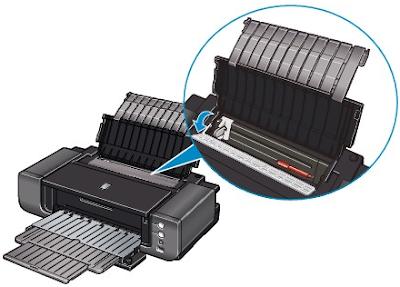 Menjaga Printer bagian Kebersihan Paper Tray