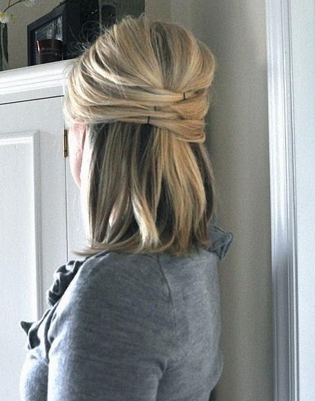 Elegant half hair Cut styles