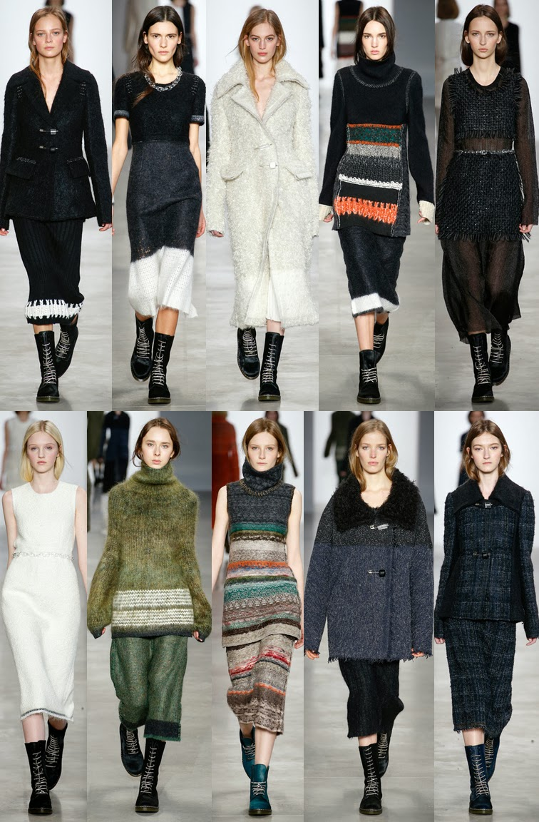 Calvin Klein Collection fall winter 2014 runway collection, NYFW, fashion week, Francisco Costa