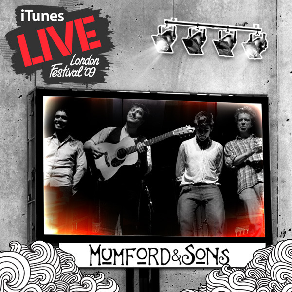 Mumford & Sons - iTunes Festival: London 2009 - EP Cover
