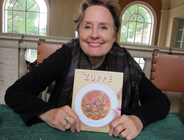 Alice Waters, American Academy in Rome