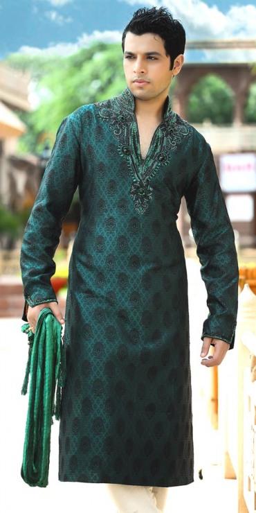 Mehndi Kurta For Mens : Mehndi dress for men new kurta design s b g