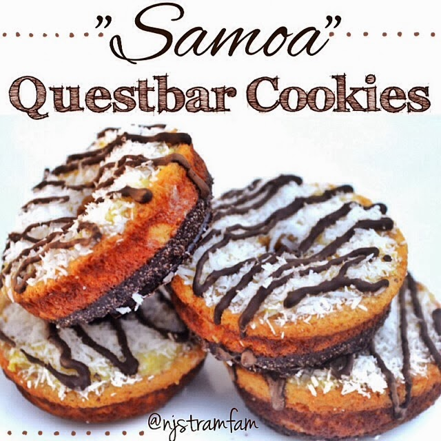 Samoa Questbar Cookies