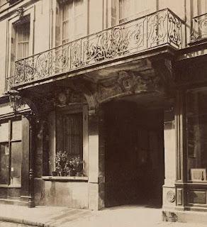 Balcon du 12 rue Guénégaud à Paris