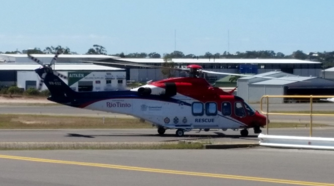 helicopters flying over brisbane with Qgair Rescue State Of Queensland Agusta on Cq Plane Spotting Historic Spot as well Queensland Helicopter Pilot School in addition Some Weekend Action From Rockh ton moreover Helicopter Flights Yanchep in addition A Great Day At New Brisbane West.
