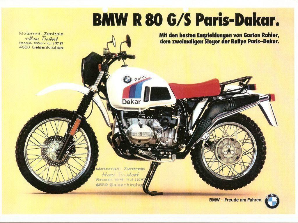 Porelpiano Bmw R80 G S Paris Dakar