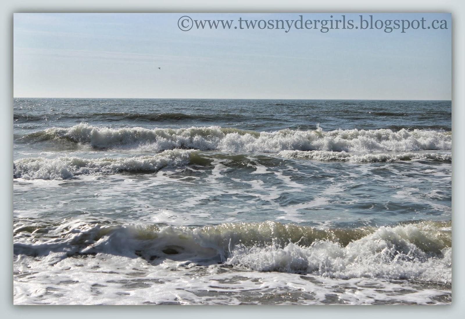Waves on Atlantic Ocean