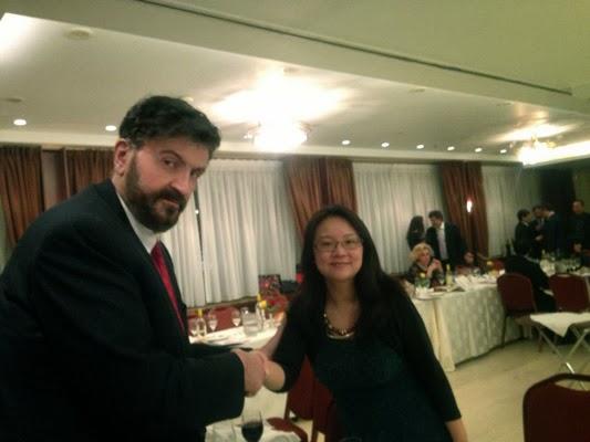 Με την Μορφωτική Ακόλουθο της Κινεζικής Πρεσβείας στην Αθήνα