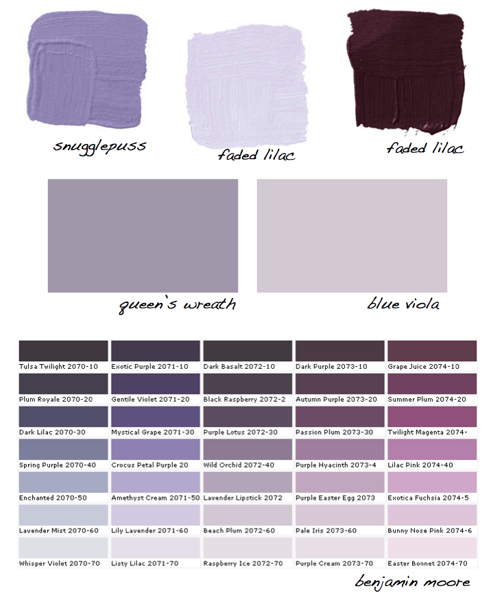 shades of purple paint top 25+ best purple paint colors ideas on
