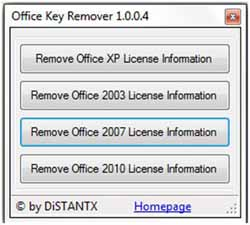 Office Key Remover 1.0.0.4