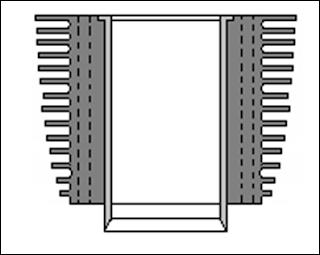 Posisi Pembesaran Cylinder Liner Jenis Rigid