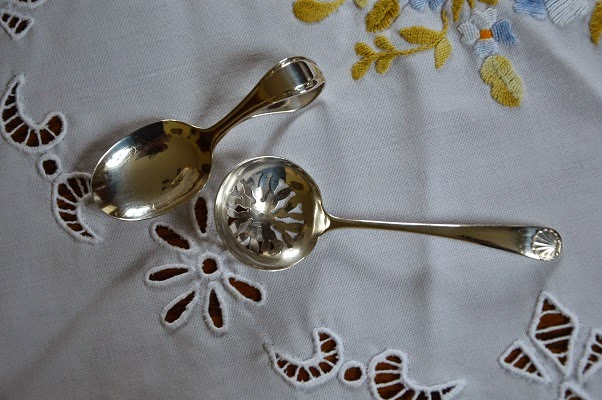 antique silver teaspoons