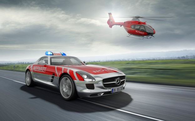 Mercedes-Benz SLS AMG Emergency