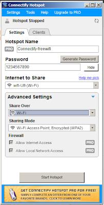 Cara Sharing Koneksi Internet Wifi dengan Satu Id Login