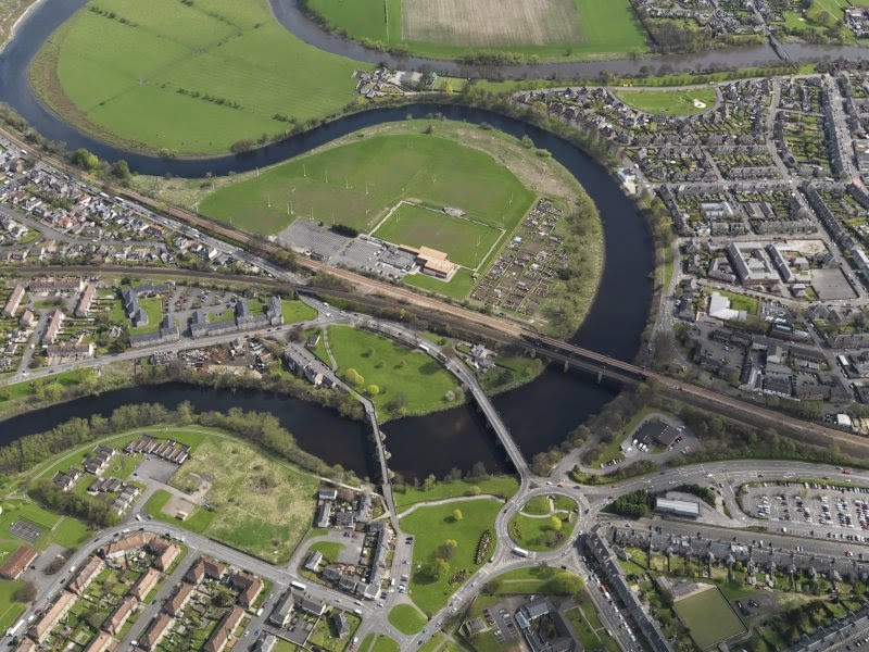 Stirling Bridge aerial view