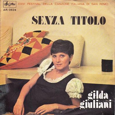Sanremo 1974 - Gilda Giuliani - Senza titolo