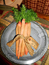 6 PRIMITIVE DIRTY GRUBBY GRUNGY CARROTS