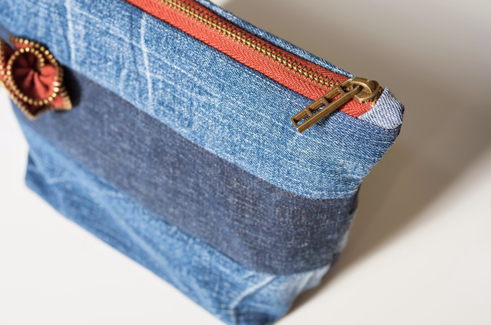 Как сшить джинсовую косметичку своими руками, мастер -класс с