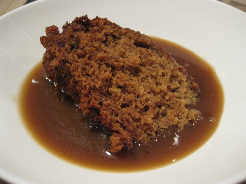 Morsels and Musings: sticky date pudding & butterscotch sauce