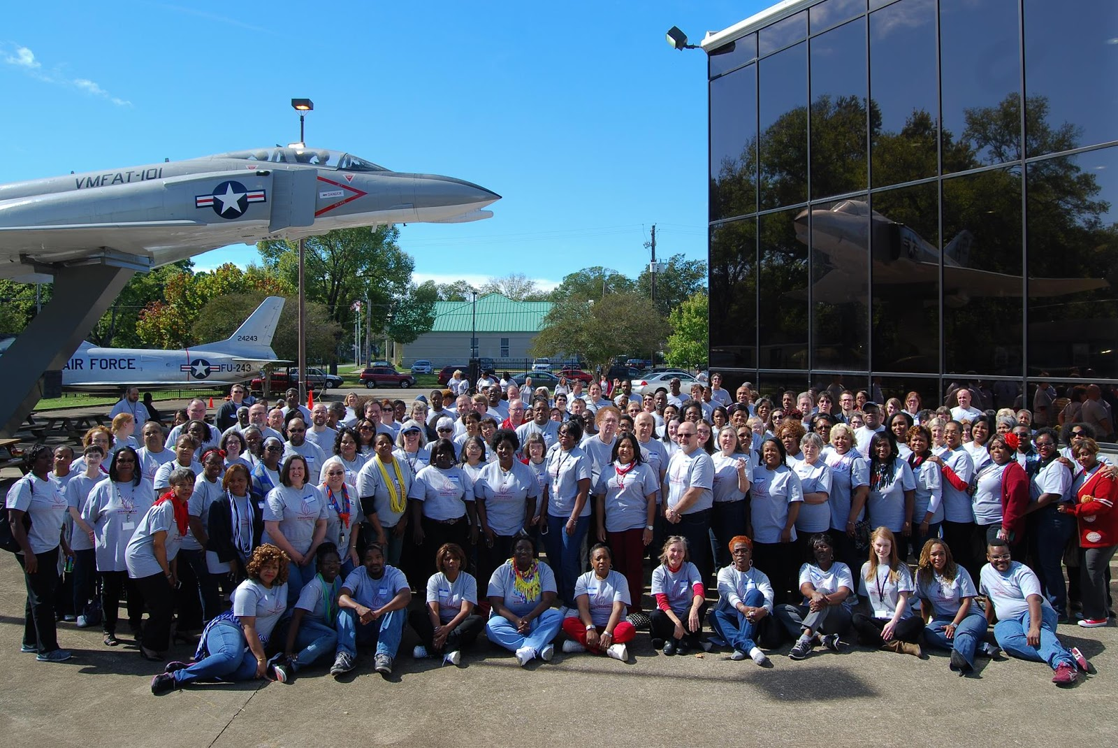 staff at Southern Museum of Flight