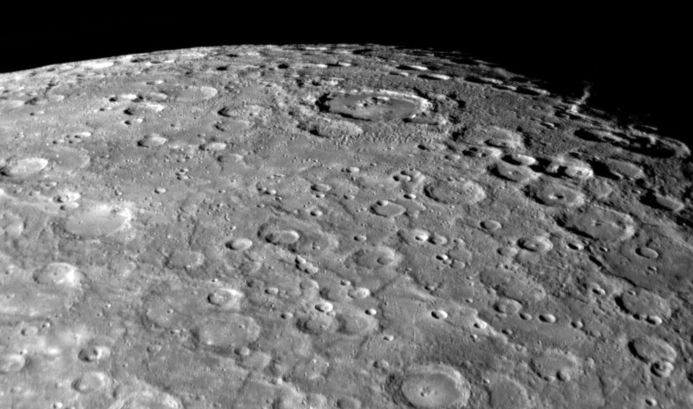 Why it is said that the surface of Mercury looks like Moon?