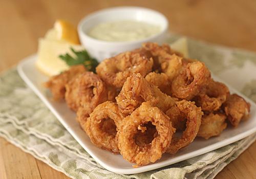 how to cook tender fried calamari