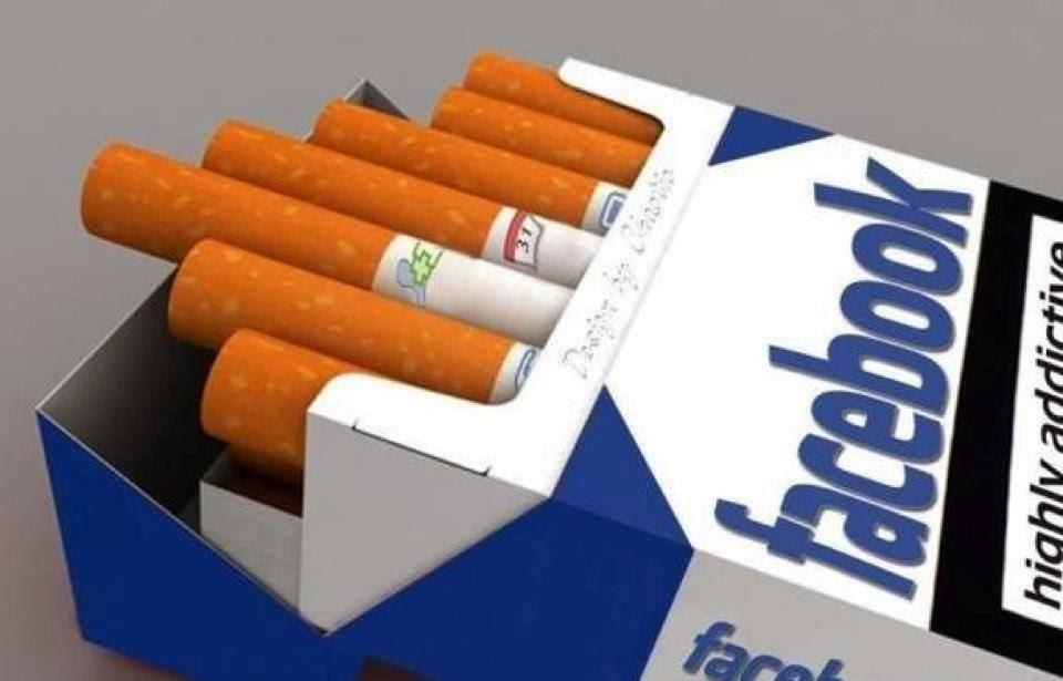 facebook, tabaco