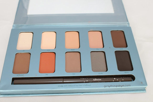 Stila In the Know eye shadow palette, all matte eyeshadow palette, Girly Things by *e*