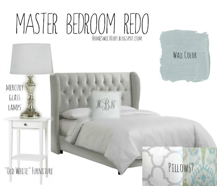 Master Bedroom Redo Home Sweet Ruby
