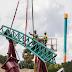 Novas imagens da construção da Cobra's Curse no Busch Gardens Tampa