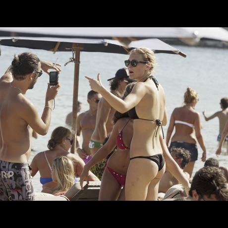 Bar Refaeli - Black Bikini