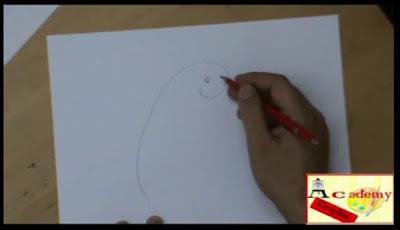 disegnare un pappagallo