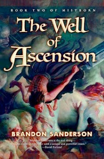 bookcover of THE WELL OF ASCENSION (Mistborn #2) by Brandon Sanderson