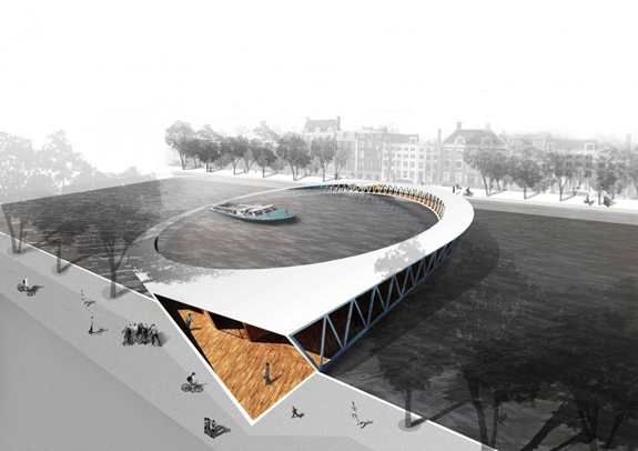 The Amsterdam Iconic Pedestrian Bridge Competition