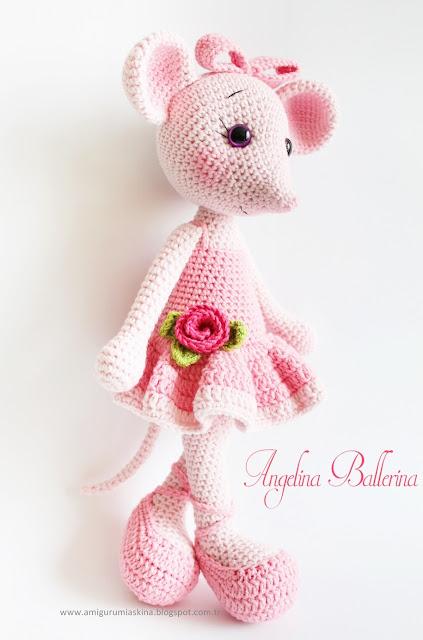 Yine Bir Amigurumi Angelina Ballerina - Knitting, Crochet ...