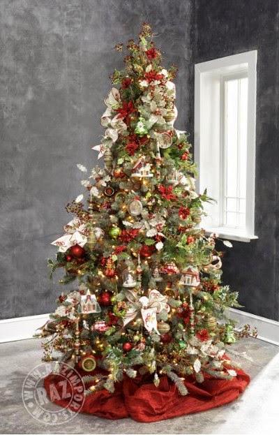 arboles bellos de navidad