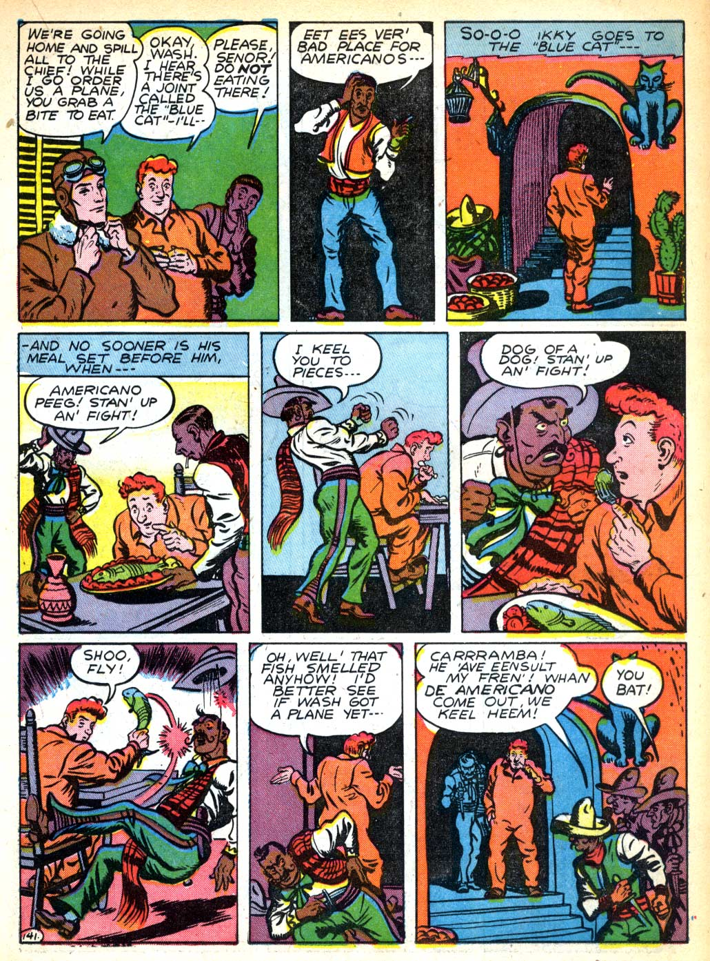 Read online All-American Comics (1939) comic -  Issue #28 - 29