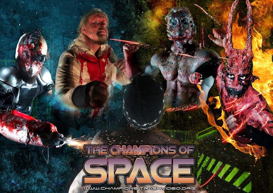 The Champions of Space (Avaruuden Haastajat). Efekti- ja tehostemaskeeraus: Ari Savonen.