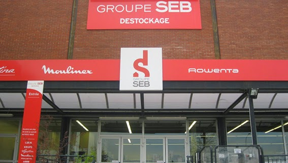 Le magasin de déstockage Seb à Tournus en Saône et Loire