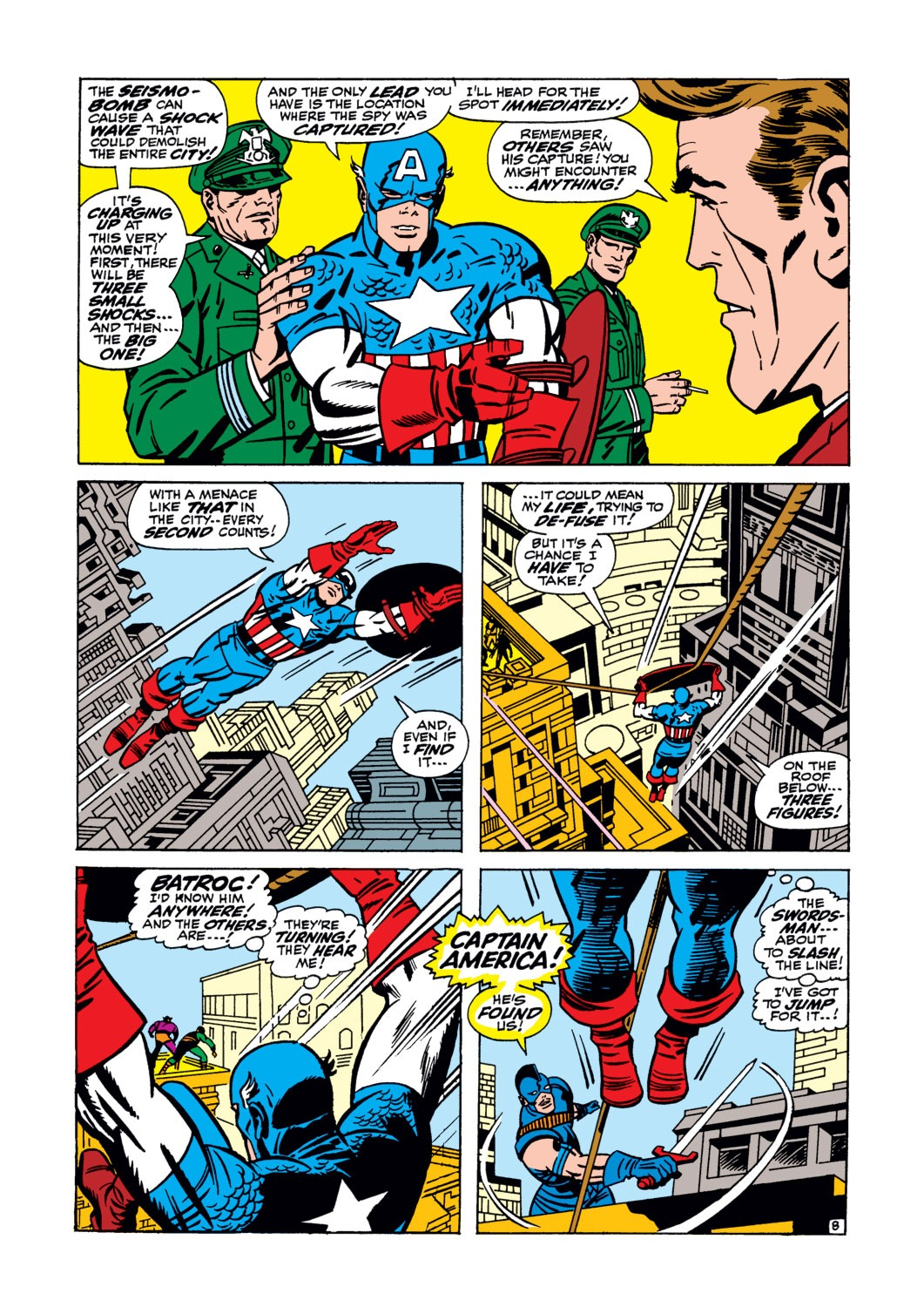 Captain America (1968) Issue #105 #19 - English 9