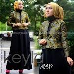Baju Muslim Gamis Dark Kayla HYD212 HABIS