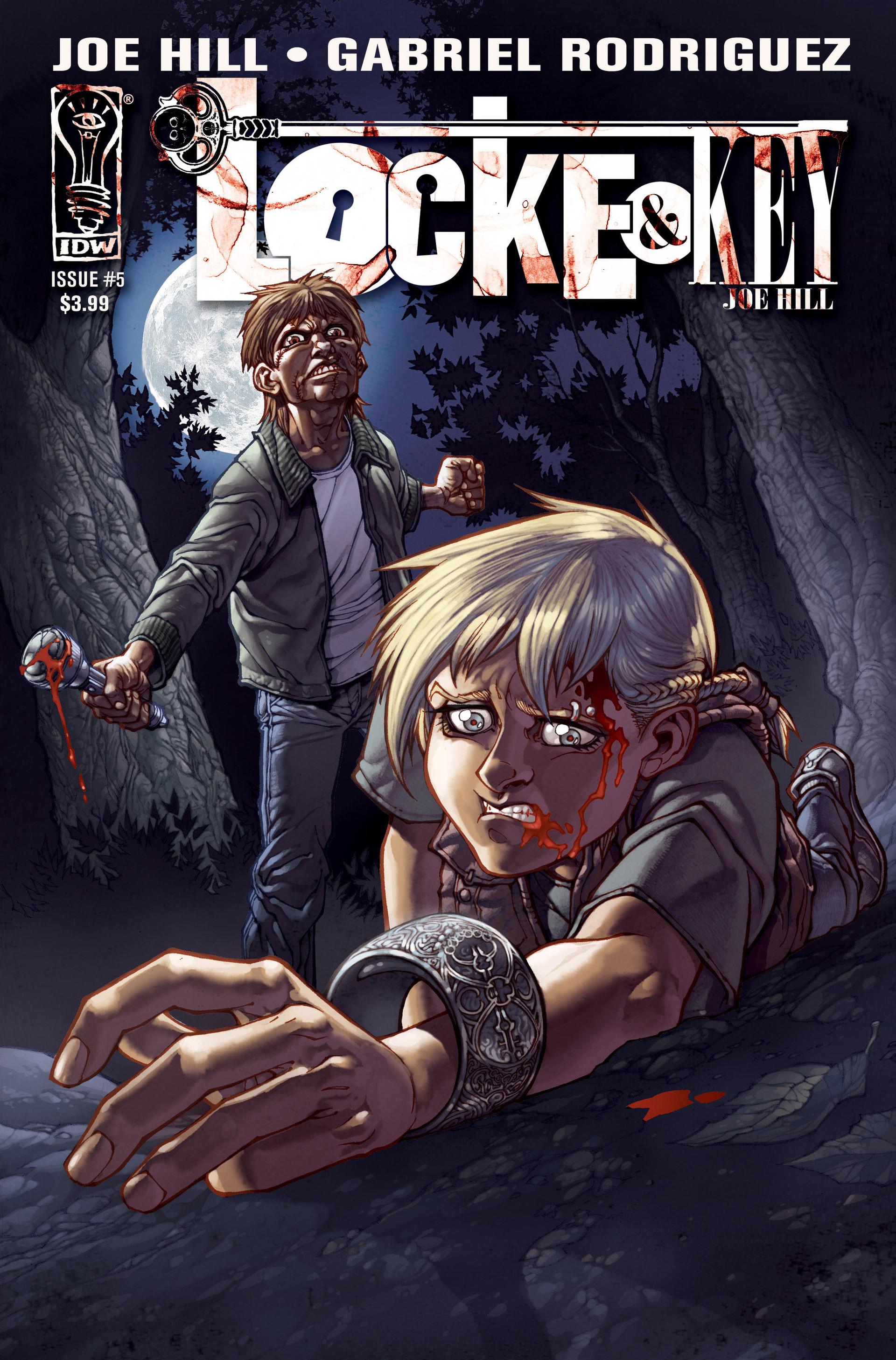 Locke & Key (2008) Issue #5 #5 - English 1