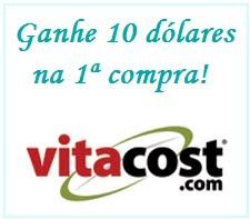 Cupom de $10 - Vitacost