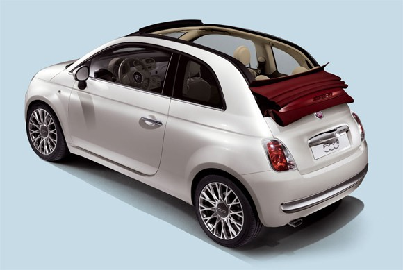 Fiat 500 Convertible 4F