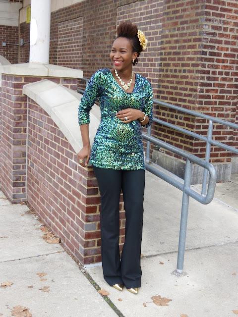 Romwe Sequin Dress