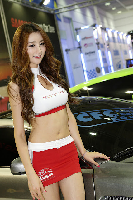 5 Eun Bin Yang - Seoul Auto Salon 2012-Very cute asian girl - girlcute4u.blogspot.com