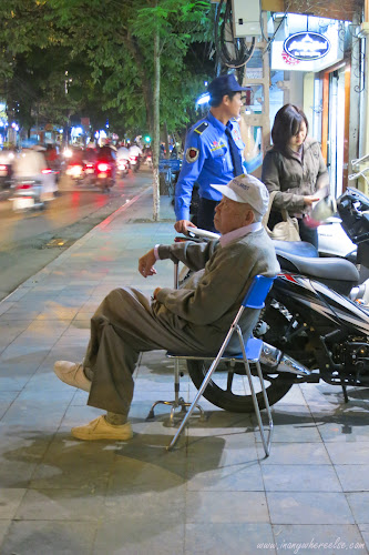 A Grandfather in Hanoi, Vietnam