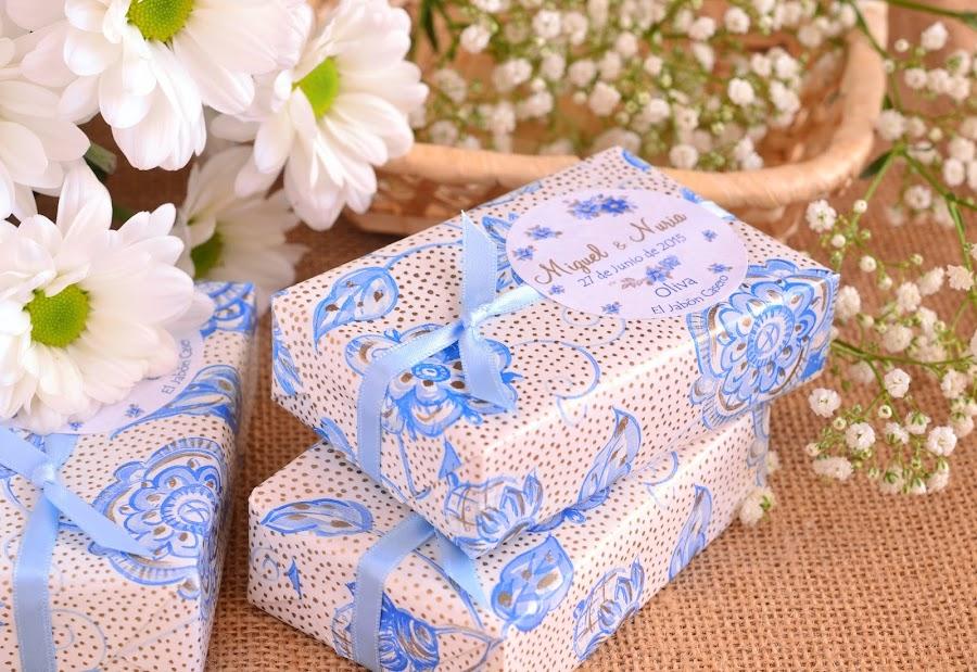 detalles personalizados para bodas el jabon casero