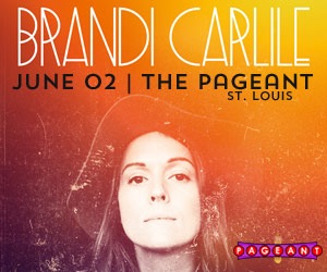 BRANDI CARLILE AT THE PAGEANT ON JUNE 2ND