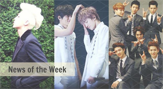 kpop news of the week oddness/weirdness
